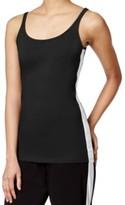 Michael Kors Black Colorblocked Women's Size Large L Tank Top