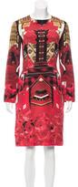 Mary Katrantzou Silk Printed Dress w/ Tags