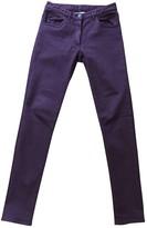 Maison Margiela Purple Cotton - elasthane Jeans for Women