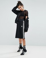 adidas Black Three Stripe Culottes