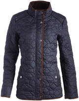 Weatherproof Dark Sea Faux Fur-Lined Quilted Jacket