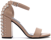 Senso Women's Leila Suede Barely There Heeled Sandals Caramel