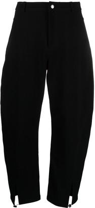 YMC Cropped Wide-Leg Trousers
