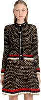 Gucci Gilet En Lurex Et Coton Épais