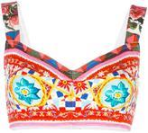 Dolce & Gabbana Mambo print bralet