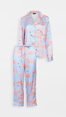 Karen Mabon Flamingo Flock Pajama Set