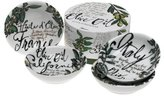 Olive Oil Dipping Dishes, Set of 4, Multi-Colour