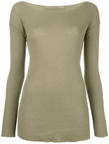 Transit - Raw edge knit jumper - women - Cotton - 36