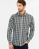 TAROCASH Sheen Check Shirt