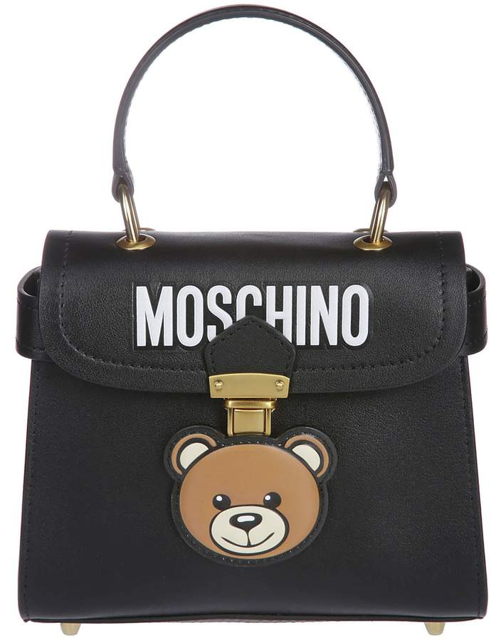 481ffb6aff Moschino Black Tote Bags - ShopStyle