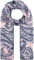 Monsoon Cosmic Paisley Silk Scarf