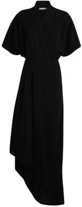 The Row Talisa Asymmetric Wrap Dress