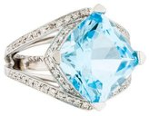 Mauboussin 18K Topaz & Diamond Ring