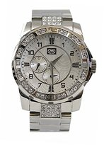 Ecko Unlimited Men's E16574G1 The Hue Analog Display Japanese Quartz Silver Watch