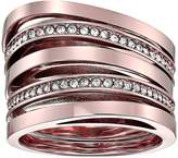 Michael Kors Brilliance Stacked Pave Ring