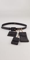 WGACA Vintage Chanel Belt with Accessories