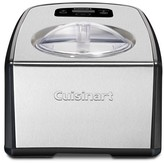 Cuisinart Compressor Ice Cream and Gelato Maker - Black and Stainless Steel ICE-100