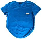 Dirk Bikkembergs Blue Cotton Top for Women