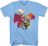 Novelty T-Shirts Marvel Short-Sleeve Thor Jane Foster Tee