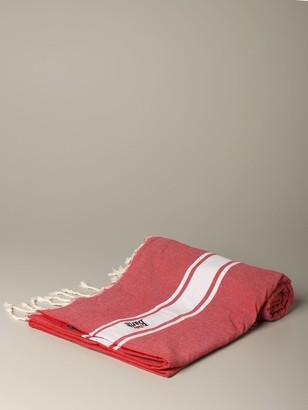 MC2 Saint Barth Terry Bath Towel With Logo