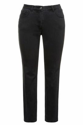 Ulla Popken Women's Jeans 5 Pocket Sammy Slim