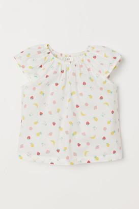 H&M Cotton Blouse - White