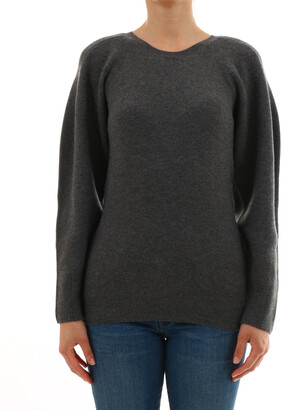 Stella McCartney Crewneck Side Zip Detail Jumper