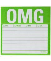 Knock Knock OMG Sticky Note Pad