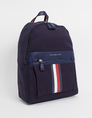 Tommy Hilfiger icon canvas backpack