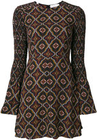 A.L.C. paisley style printed dress