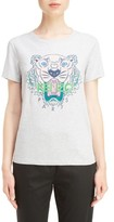 Kenzo Women's Tiger Graphic Brushed Cotton Tee