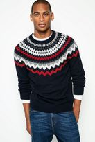 Jack Wills Amberden Fairisle Crew Neck Sweater