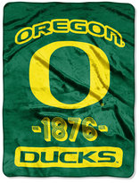 Northwest Company Oregon Ducks Micro Raschel Varsity Blanket