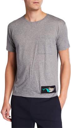 Valentino Men's Crewneck Graphic T-Shirt