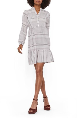 Vero Moda Hazel Long Sleeve Babydoll Dress
