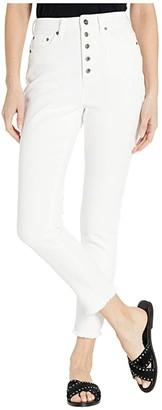 BB Dakota High-Rise Denim Pants (Bright White) Women's Jeans