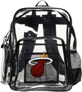 Northwest Company The Miami Heat Dimension Clear Backpack