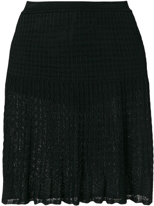 Alaïa Pre-Owned Pleated Lace Skirt