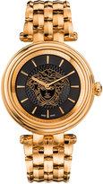 Versace Women's Swiss Khai Rose Gold-Tone Stainless Steel Bracelet Watch 38mm VQE050015