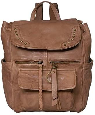 Frye Odessa Backpack (Cognac) Backpack Bags