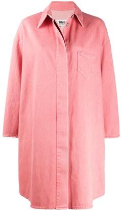 MM6 MAISON MARGIELA Shirt-Style Oversized Coat
