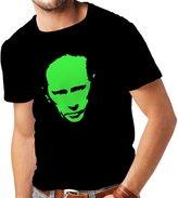 lepni.me N4113 T-shirt male Like Vladimir Putin CCCP Russia Russland Moscow ( Black Green)