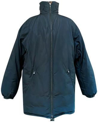 Hermes Navy Silk Coats