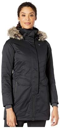 Obermeyer Sojourner Down Jacket (Charcoal) Women's Coat