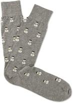 J.Mclaughlin Snowman Socks