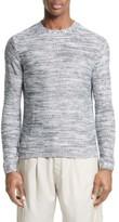 Saturdays NYC Men's Wade Reverse Knit Sweater