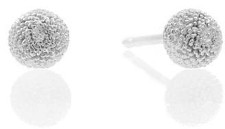 Lee Renee Dahlia Earrings Silver