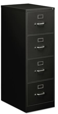 Symple Stuff Saffo 4-Drawer Vertical Filing Cabinet Color: Putty
