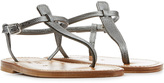 K. Jacques Textured Leather Sandals