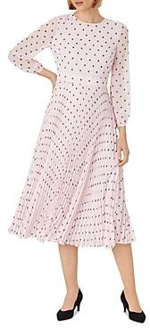 Hobbs London Selena Floral Print Midi Dress